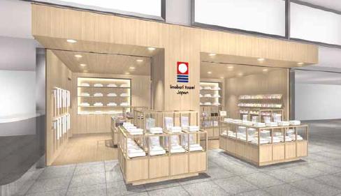 「今治タオル」4店舗目の公式ショップ 「今治タオル 松山エアポートストア」が松山空港にオープン