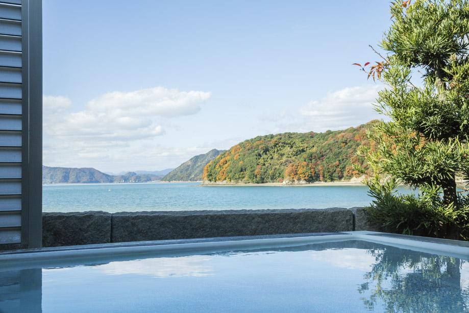 マーレ・グラッシア大三島の展望風呂